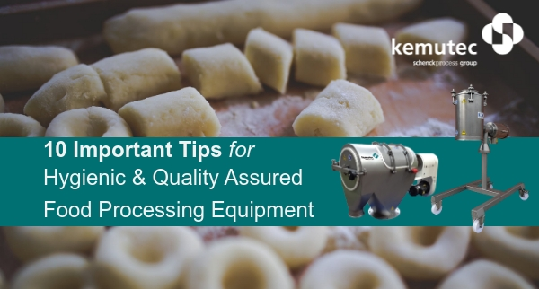 Tips for Sourcing Food Processing Equipment
